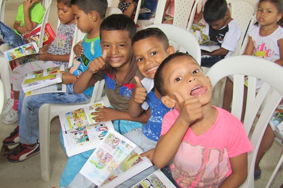 Colombia Church Plant updates
