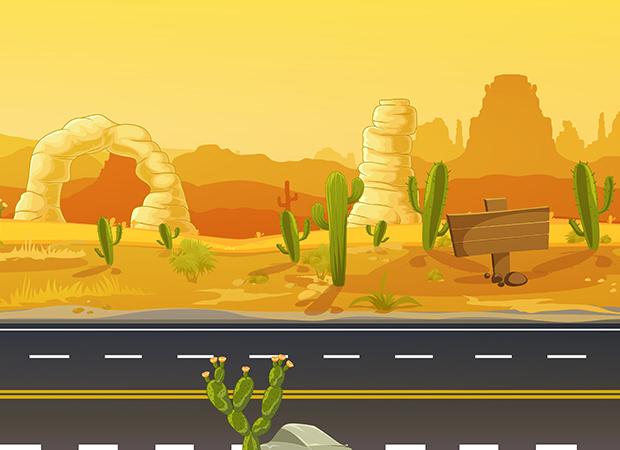 Arizona Desert Background