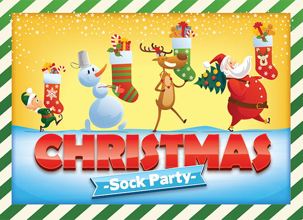 Christmas Sock Party