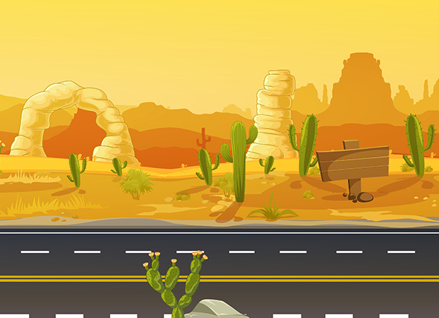 Arizona Desert Background